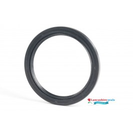80x125x13mm Nitrile Rubber Rotary Shaft Oil Seal R23/TC Double Lipped With Garter Spring