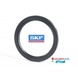 48x65x10mm Oil Seal SKF Rubber Nitrile Double Lip R23/TC With Garter Spring