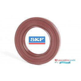 8x18x7mm Oil Seal SKF Viton Rubber Double Lip R23/TC With Stainless Steel Spring