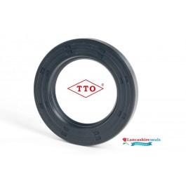 27x40x6mm Oil Seal TTO Nitrile Rubber Single Lip R21/SC With Garter Spring