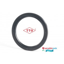 6.80x22x7mm Oil Seal TTO Nitrile Rubber Double Lip R23/TC With Garter Spring