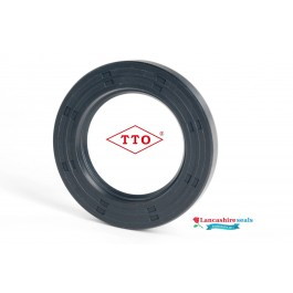 5x10x4mm Oil Seal TTO Nitrile Rubber Single Lip R21/Springless